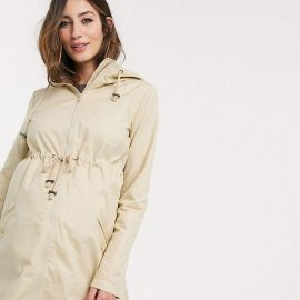 Mama.Licious Mamalicious Maternity parka with nursing combination function in beige