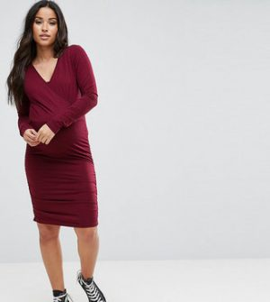 Mama.licious Mamalicious Nursing Wrap Dress