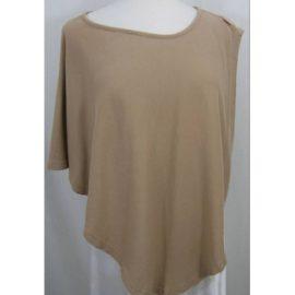 Mamaflage Soft cotton feeding poncho camel colour Size: One size: regular at Oxfam Online Shop