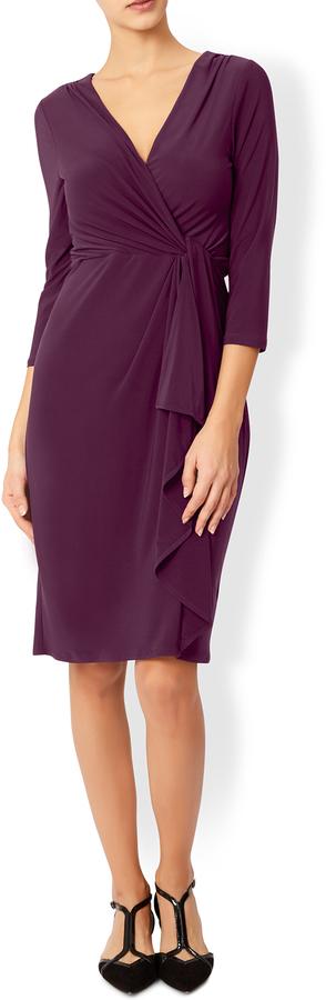Svetlana Twisted Front Dress