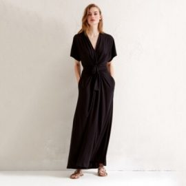 Tie Front Wrap Maxi Dress at The White Company