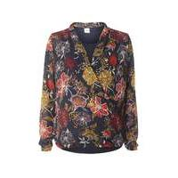 Womens **Mamalicious Floral Nursing Wrap Blouse- Fl Multi - Dorothy Perkins Nursing Clothes